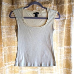 Super soft pale yellow top from Moda